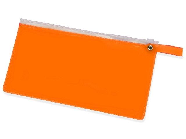 оранжевый прозрачный/белый