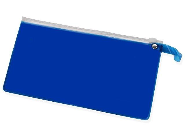 синий прозрачный/белый