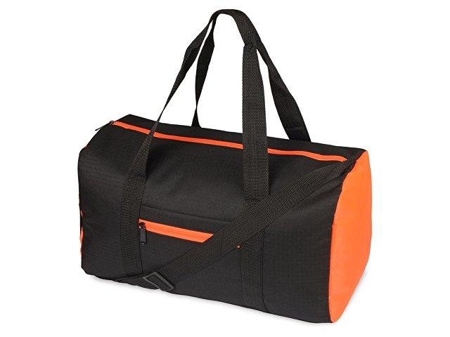 черный/оранжевый