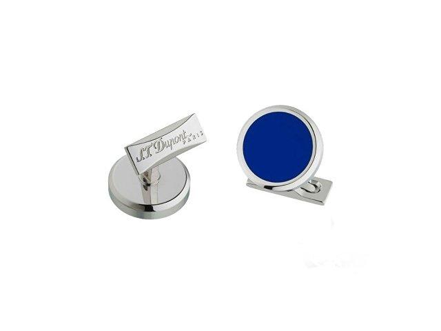 синий/серебристый