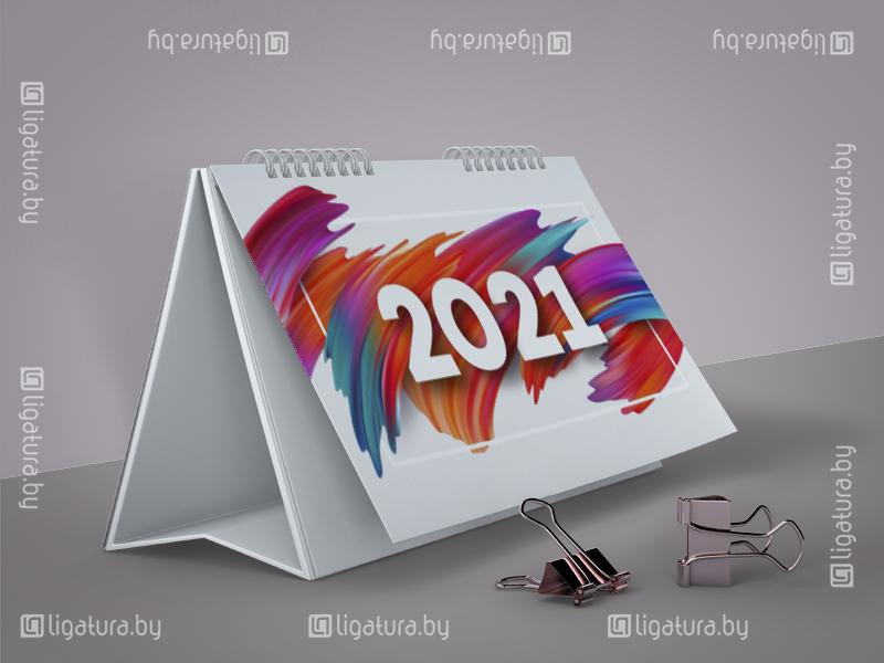 Настольный календарь-домик на 2021 год